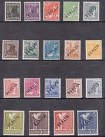 Berlin MNH Michel Nr 1/20 From 1948 / Catw 130.00 EUR - Ungebraucht