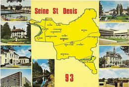 ~  JP  ~  93   ~   DEPARTEMENT  SEINE SAINT DENIS   ~   Multivues   ~ - Gournay Sur Marne