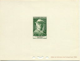 1443) Épreuve De Luxe Du N°1069 Chardin - Epreuves De Luxe