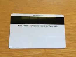 Hotelkarte Room Key Keycard Clef De Hotel Tarjeta Hotel CABIN CARD  COSTA NEOROMANTICA PERLA DIAMANTE - Télécartes