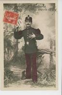 """MILITARIA - REGIMENTS - INFANTERIE - Jolie Carte Fantaisie Militaire """"Du 122ème Régiment D'Infanterie , Je Vous Envoie.. - Regimenten"""