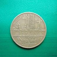 10 Francs Münze Aus Frankreich Von 1976 (sehr Schön) II - K. 10 Francs