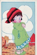 Chocolat L'Aiglon.   Illustrateur Vanasck M. Juste Après La Baignade.  Scan - Küchenrezepte