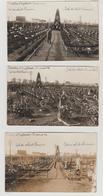 Guerre 1914-1918 Cimetière D'INGOLSTADT Toussaint 1916   5 Cartes-photos - Cimetières Militaires