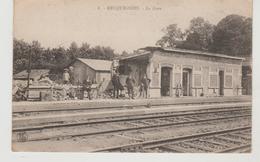 Nord RECQUIGNIES La Gare (vue Intérieure, Animation) - Autres Communes
