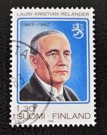 PRESIDENT LAURI KRISTIAN RELANDER 1983 - OBLITERE - YT 892 - MI 928 - Finlande