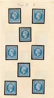 FRANCE  1854/1860 ISSUE NICE SELECTION USED - 1853-1860 Napoleon III