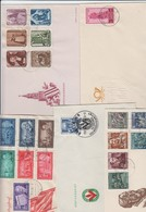 DDR . 5 Alte FDC , Mehr Als 100 Euro Michel - Covers & Documents