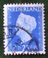 25 Ct Koningin Wilhelmina NVPH 483 (Mi 486) 1947 -1948 Gebruikt / Used NEDERLAND / NIEDERLANDE - Gebraucht