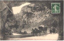 FR11 SAINT MARTIN DE LYS - Labouche 376 - La Route - Diligences - Animée - Belle - France