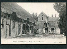 CPA - Les Bords De La Rance - Un Coin De Ferme Bretonne, Animé - France