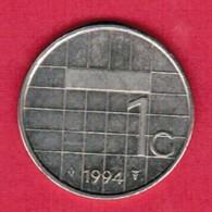 NETHERLANDS   1 GULDEN 1994 (KM # 205) #5370 - [ 3] 1815-… : Kingdom Of The Netherlands