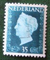 35 Ct Koningin Wilhelmina NVPH 485 (Mi 488) 1947 -1948 Gebruikt / Used NEDERLAND / NIEDERLANDE - Gebraucht