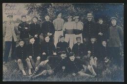 BELGISCHE KRIJGSGEVANGENEN SOLDATEN  FOTOKAART 1914 - War 1914-18