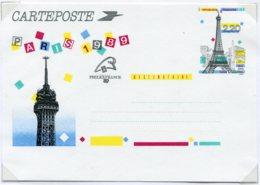 14283 FRANCE N° 2580-CP1(x16)  2F20  Panorama De Paris : La Tour Eiffel Avec OSI De Philexfrance Et P.J    1989  TB/TTB - Postal Stamped Stationery