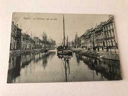 Gand  Gent  La Pêcherie Vue Du Sas - Gent