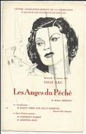 """Leuven - Centre Cinématographique Fédération Wallonne Des étudiants De Louvain """"Les Anges Du Péché"""" Robert Bresson 1951 - Programme"""