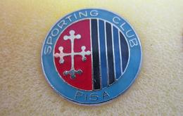 Sporting Club Pisa Calcio Distintivi FootBall Soccer Spilla Pins Toscana Italy - Calcio