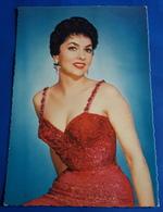 Portrait GINA LOLLOBRIGIDA # Alte WS-Star-Foto-Karte, Ca. 10 X 14,5 Cm # [19-633] - Fotos