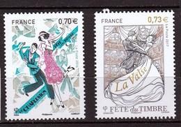 Fête Du Timbre 2016 Et 2017 Neufs ** - France