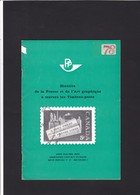 HISTOIRE DE LA PRESSE ET DE L ART GRAPHIQUE A TRAVERS LES TIMBRES POSTE 27 Pages - Zonder Classificatie
