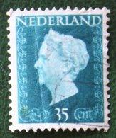 READ 35 Ct Koningin Wilhelmina NVPH 485 (Mi 488) 1947 -1948 Gebruikt / Used NEDERLAND / NIEDERLANDE - Gebraucht