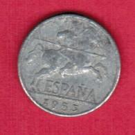 SPAIN   10 CENTIMOS 1953 (KM # 766) #5373 - [ 5] 1949-… : Kingdom