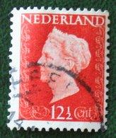 12 1/2 Ct Koningin Wilhelmina NVPH 479 (Mi 482) 1947 -1948 Gebruikt / Used NEDERLAND / NIEDERLANDE - Gebraucht