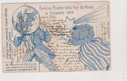 13 Novembre 1899 Ricordo Della Fine Del Mondo, Umoristica Illustrata Da Guttmann - F.p. - Anno 1900 - Vari