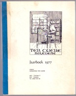 Jaarboek 1977 TER CUERE BREDENE Oostende GALLO-ROMEINS TER-SCHELLE WO1 KAAI FESTUNG-EUROPA DUINENWEG VOLKSTELLING Z797E - Bredene