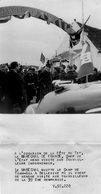 Photo Originale. Vichy Camp De Tinh Gia  A Bellerive Marechal Petain Visite La 39eme Compagnie . Photo De Presse18X13cm - Vichy