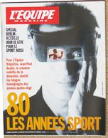 L'EQUIPE MAGAZINE N° 429 18 Novembre 1989 80 Les Années Sport De Jean Paul Goude Kristin Otto Carl Lewis Florence * - Sport