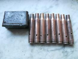 Garand Cartouche Clip 30.06 Ww2 Fouille - Armes Neutralisées