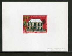 NOUVELLE CALEDONIE 1979 EPREUVE DE LUXE YVERT  N°428  NEUF MNH** - Sin Dentar, Pruebas De Impresión Y Variedades