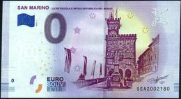 Zero - BILLET EURO O Souvenir - SAN MARINO 2019-1set UNC {Italy} - EURO