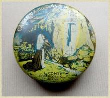 Ancienne Boite Tôle Bonbons Cailloux Du Gave - Ets Comte / Courreges Lourdes - Scatole