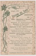 Fiera Del Santo - Giugno 1899 , Padova, Con Calendario Delle Varie Manifestazioni  - F.p. - 1899 - Manifestazioni