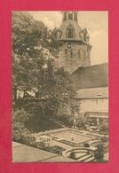 C.P. Namur =  HÔTEL DES COMTES D' HARSCAMP   : Le  Jardin   Et  Le Beffroi - Namur