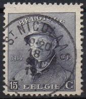 Roi Casqué - N° 169 Oblitération ST NICOLAAS - 1919-1920 Roi Casqué