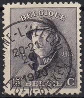 Roi Casqué - N° 169 Oblitération BRAINE L'ALLEUD / EIGEN-BRAKEL - 1919-1920 Trench Helmet
