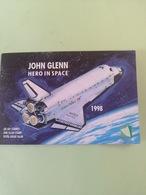 Carnet Timbres Et Bloc +John Glenn + Navette - Space
