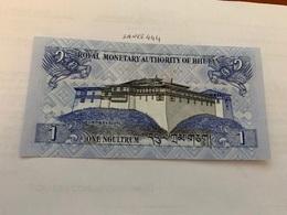 Bhutan 1 Ngultrum Uncirculated Banknote - Bhoutan