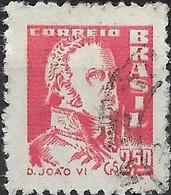 BRAZIL 1959 King John VI Of Portugal - 2cr.50 - Red FU - Brasilien