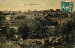 - Dpts Div -ref-AL831- Val D Oise - Boissy L Aillerie - Vue Generale - Carte Colorisée - - Boissy-l'Aillerie