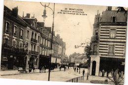 CPA MONTLUCON - Boulevard De Courtais Prés De L'Avenue De La Gare (262283) - Montlucon