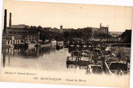 CPA MONTLUCON - Canal Du Berry (262268) - Montlucon