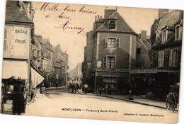 CPA MONTLUCON - Faubourg Saint-Pierre (262292) - Montlucon