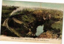 CPA MONTLUCON - Gorges Et Rives Du Cher Prés Lavault-Ste-Anne (225205) - Montlucon