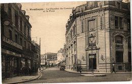 CPA MONTLUCON - La Chambre Du Commerce Et La Poste (262378) - Montlucon