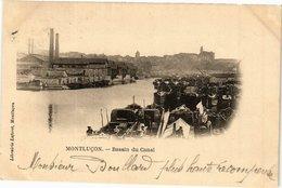 CPA MONTLUCON - Le Bassin Du Canal (225218) - Montlucon